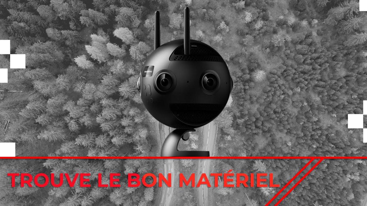 Le matériel 360° – La caméra à éviter?