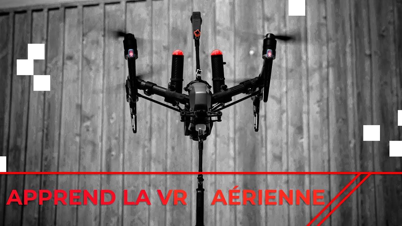 DJI Inspire 2 avec des caméras 360° – Besoin d'une perche?