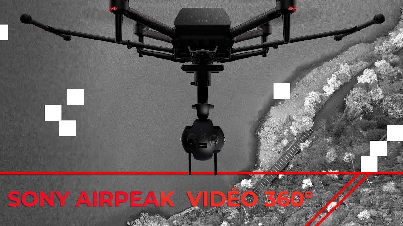 Drone Sony AIRPEAK – La compatibilité des caméras