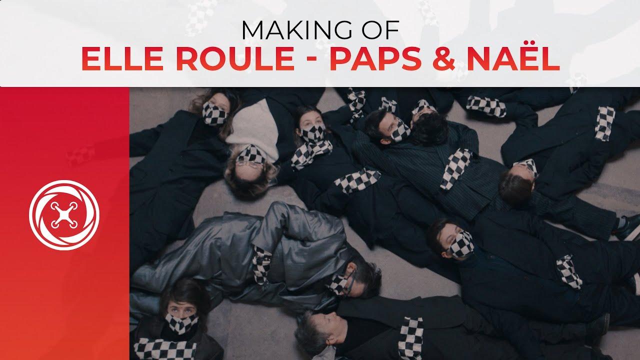 Making of du clip ELLE ROULE – La caméra principale utilisée