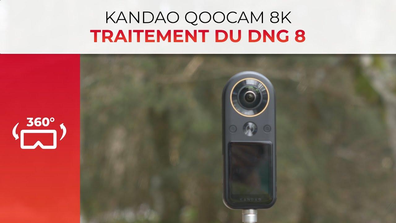 Kandao Qoocam VR 8k – Le problème du DNG8