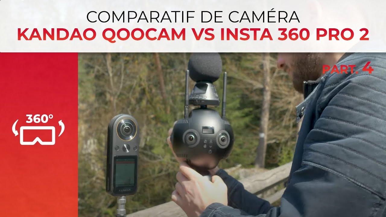 Insta360 Pro 2 vs Kandao Qoocam 8K – Est-ce que ça MATCH?
